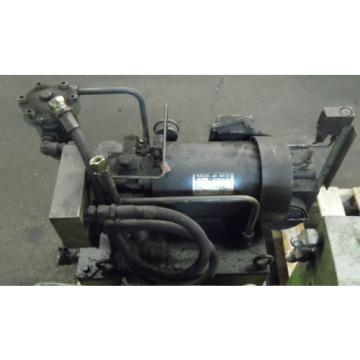 Showa Mozambique  3 HP Hydraulic Unit, PVU-60-04-HX365, Used,  WARRANTY, Nachi Motor amp; Pump