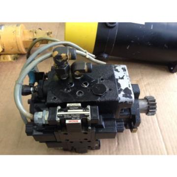 Nippon Mozambique Gerotor Hydraulic Index Motor with two Nachi solenoids