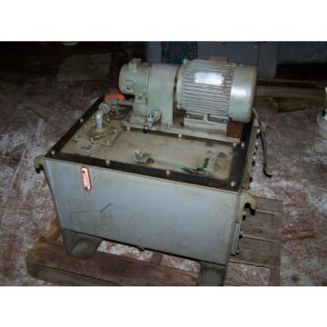 15 Romania  kw NACHI VDR-1A-1A2-10, variable vane pump, motor and tank