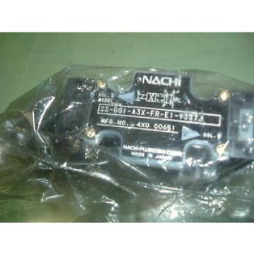 NACHI Libya  SS GO1 C6 FR E1 31 HYDRAULIC VALVE Origin PACKAGED