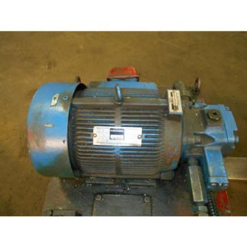 Nachi Montserrat Is  3 HP 22kW Complete Hyd Unit w/ Tank, # S-8780, 1980, Used, WARRANTY