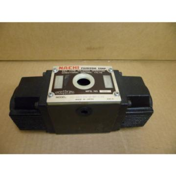 NACHI Peru SS-G03-C6-R-D2-E10 WET TYPE SOLENOID OPERATED DIRECTIONAL HYDRAULIC VALVE