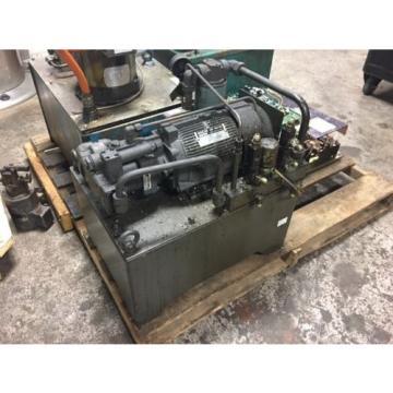 Nachi Grenada 2 HP 15kW Complete Hyd Unit w/ Tank, PVS-1B-16N1-2535A, Used, WARRANTY