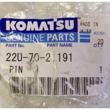 KOMATSU Honduras GENUINE PARTS 22U-70-21191 PIN FREE SHIPPING