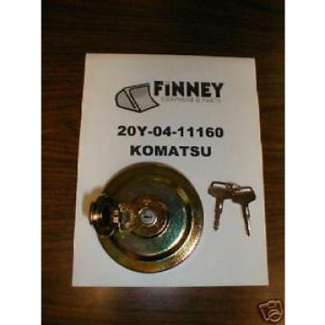 Komatsu Cuinea  Excavator Locking Fuel Cap 20Y-04-11161 NEW with keys PC120 PC220 PC225