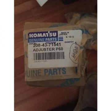 Genuine Oman  Komatsu Parts 2084371541 Adjuster
