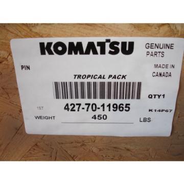 Komatsu Mauritius 427-70-11965 Lift Arm & Bellcrank Pin WA800 WA900 Genuine OEM Part NEW