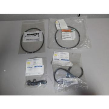 New Moldova, Republic of  Genuine Komatsu O Ring Set 07002-11423 07000-12135 07000-15155 OEM *NOS*