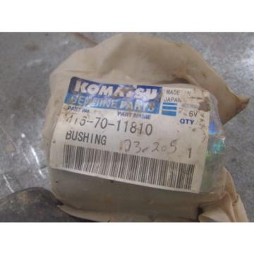 NEW Argentina  GENUINE KOMATSU BUSHING PART # 416-70-11810