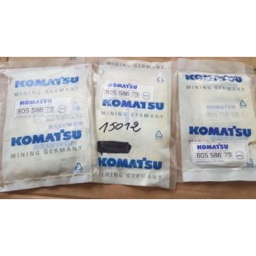 QTY Guinea of 3 New Komatsu Mining Germany Seal Kit 805 586 73 / 80558673