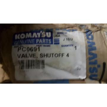 New Luxembourg  Komatsu Shut Off Valve PC0691 Made in USA