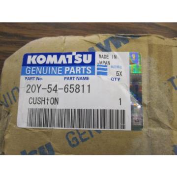 NEW Barbados  GENUINE KOMATSU CUSHION 20Y-54-65811