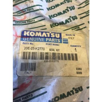 New Malta  OEM Genuine Komatsu PC Series Excavators Seal Kit 20E-23-K2770 Warranty!