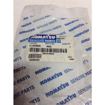 *NEW* Barbuda  GENUINE KOMATSU SEAL  PART # 20E-60-K6640! *Warranty* *Fast Shipping*