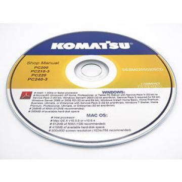 Komatsu SamoaWestern WA250-6 Wheel Loader Shop Service Repair Manual