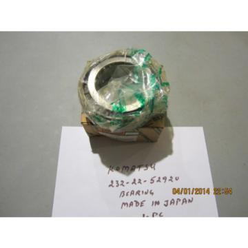 Komatsu Iran 232-22-52920 Bearing Genuine