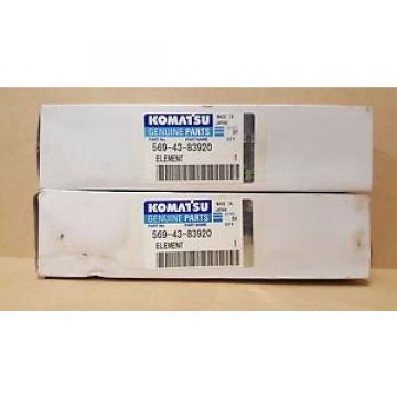 Komatsu United States of America  569-43-83920 Filter (Qty 2)