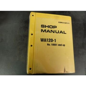 Komatsu France  WA120-1 Wheel Loader Shop Manual