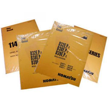 Komatsu Brazil  D31EX with 4D102E-2 Series Engine Service Manual