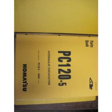 OEM Swaziland  KOMATSU PC120-5 PARTS Catalog Manual Book