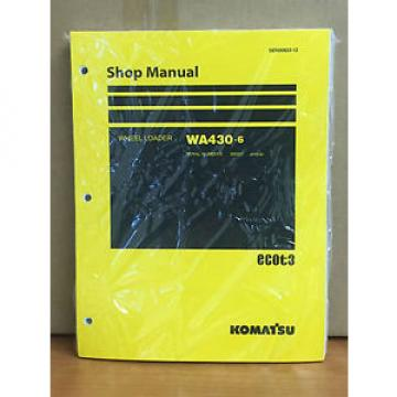 Komatsu Ecuador  WA430-6 Wheel Loader Shop Service Repair Manual (65001 & up)