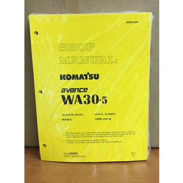 Komatsu Vietnam  WA30-5 Avance Wheel Loader Shop Service Repair Manual
