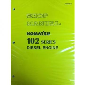 Komatsu Azerbaijan  102 Series Engine Factory Shop Service Repair Manual