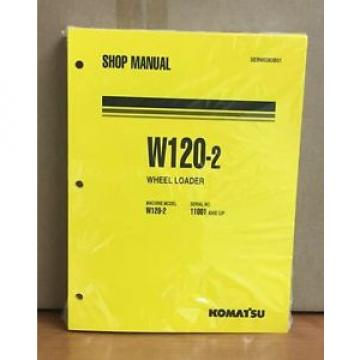 Komatsu Cuba  W120-2 Wheel Loader Shop Service Repair Manual