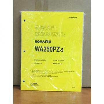 Komatsu Haiti  WA250PZ-5 Wheel Loader Shop Service Repair Manual