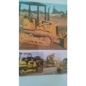 MANUAL Liberia  FOR KOMATSU D20 BULL DOZER TRACK LOADER