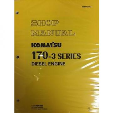 Komatsu Solomon Is  170-3 Series Diesel Engine Factory Shop Service Repair Manual