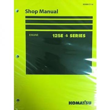 Komatsu Oman  125E -5 Series Engine Factory Shop Service Repair Manual
