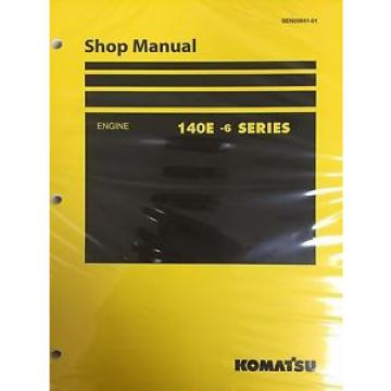 Komatsu Russia  140e-6 Series Engine Factory Shop Service Repair Manual