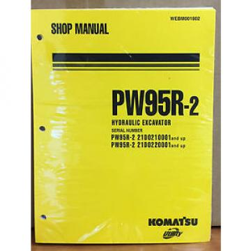 Komatsu Andorra  Service PW95R-2 Excavator Shop Manual NEW REPAIR