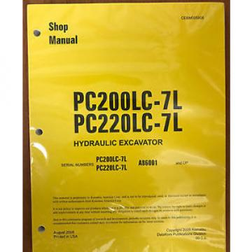 Komatsu United States of America  PC200LC-7L, PC220LC-7L Hydraulic Excavator Shop Repair Service Manual