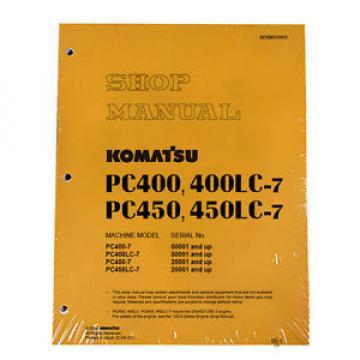 Komatsu Ethiopia Service PC400-7, PC400LC-7, PC450-7/LC-7 Manual
