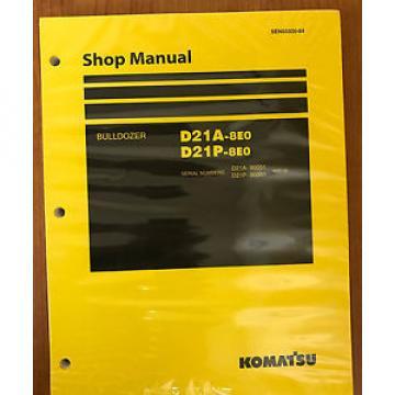 Komatsu Malta D21A-8E0, D21P-8E0 Crawler Dozer Bulldozer Shop Repair Service Manual