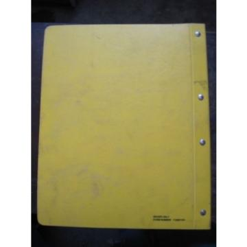 OEM Reunion  KOMATSU Bulldozer Crawler D65P-12 D65PX-12 PARTS Catalog Manual Book