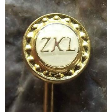 ZKL Ball Bearing Company of Czechoslovakia Race & Cage Advertising Pin Badge Original import