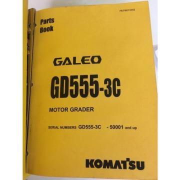 GD555-3C, CostaRica GD655-3C, GD675-3C Motor Grader Komatsu