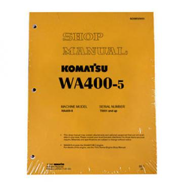 Komatsu Ethiopia  WA400-5 Wheel Loader Service Repair Manual