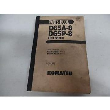 Komatsu Haiti  D65A-8 and D65P-8 Bulldozer Parts Manual
