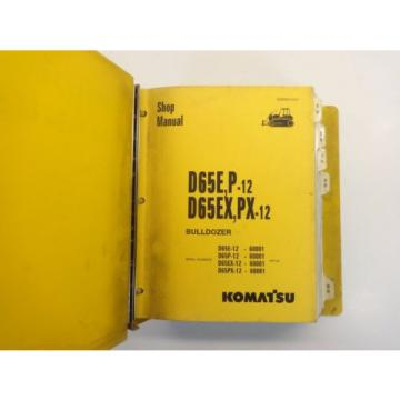 Komatsu Liechtenstein  D65 D65Ex, Px SHOP MANUAL Automotive Repair