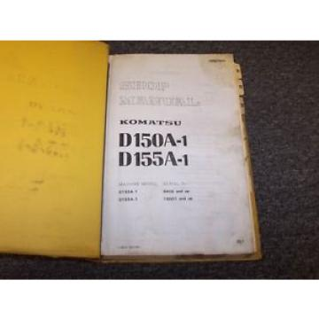 Komatsu Russia  D150A-1 D155A-1 Bulldozer Dozer Workshop Shop Service Repair Manual Book
