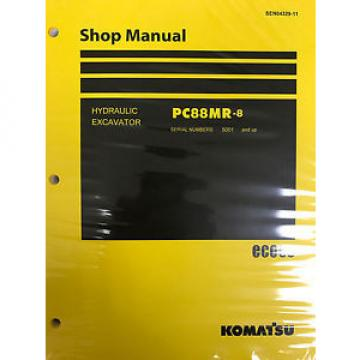 Komatsu Niger  PC88MR-8 Service Repair Printed Manual