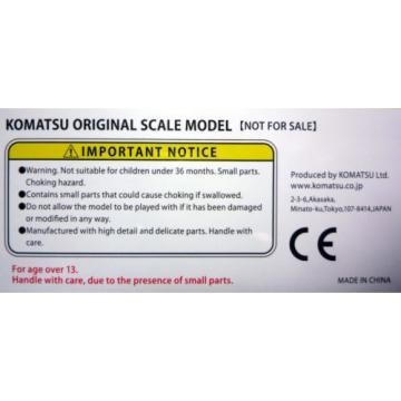 Komatsu Guyana Official Diecast Model Wheel Loader WA380-8 / 1:87 / Japan Exclusive