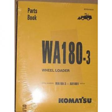 PARTS Iran  MANUAL FOR WA180-3 SERIAL A81001 KOMATSU WHEEL LOADER