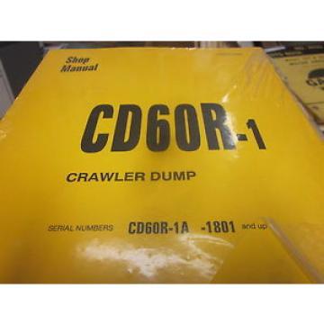 Komatsu Andorra CD60R-1 Crawler Dump Repair Shop Manual
