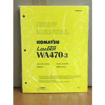 Komatsu Brazil  WA470-3 Avance Wheel Loader Shop Service Repair Manual