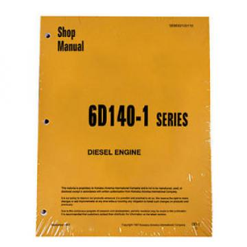 Komatsu Andorra  6D140-1 Series Diesel Engine Service Workshop Printed Manual